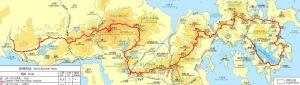 McLehose_map_brief_route