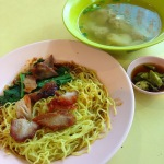 1_ Chin Seng Cooked Food (Tekka Centre) - Wanton Mee