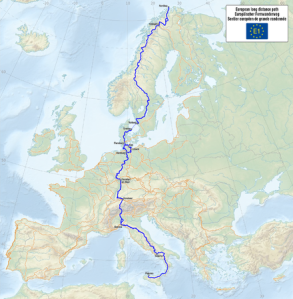 Map_of_the_European_Long_Distance_Path_E1