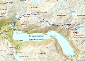 Trolltunga-Trail