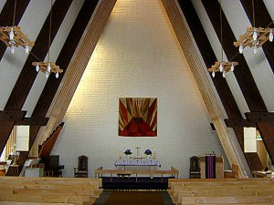 Tyssedal kyrkje - 2
