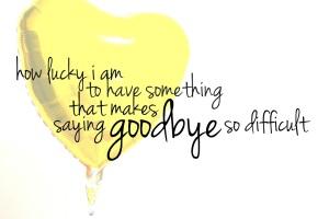 farewelll